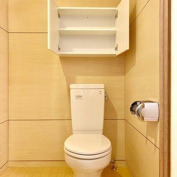 トイレも同空間にあります。