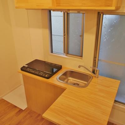 L字キッチンはカウンター式※写真は前回募集時のものです