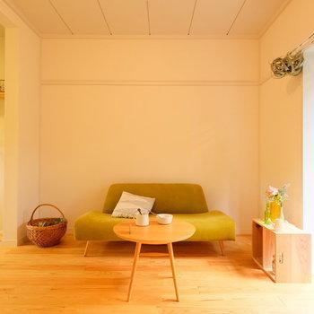 無垢床には家具がよく合いますね