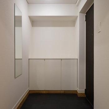玄関もゆとりのあるスペースに!