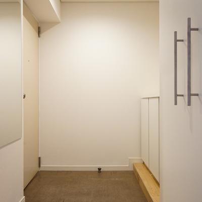 玄関もゆとりのあるスペースに!※写真はイメージ