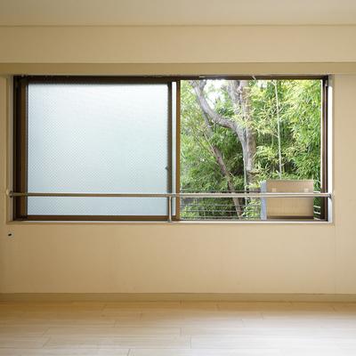 窓の外には竹!!※写真は工事前