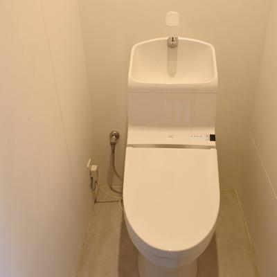 トイレもウォシュレットが嬉しい!