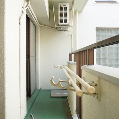 ベランダへは2部屋から出れるんです※写真は前回掲載時のものです。