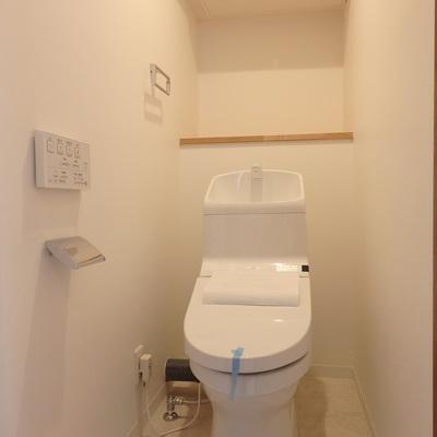 トイレももちろん新品でございます