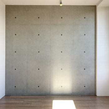 【LD】反対側の壁はコンクリート打ちっ放しですよ