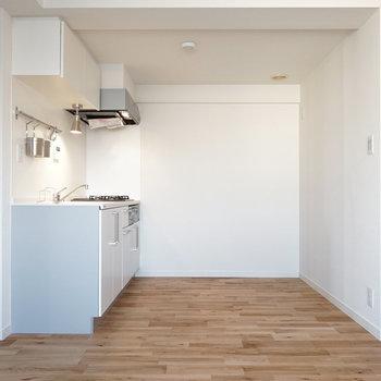 キッチンも広い贅沢空間に!