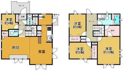 My Dream House の間取り