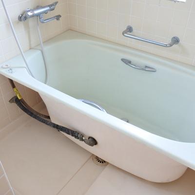 お風呂はちょっと可愛い姿をしておりますよ。