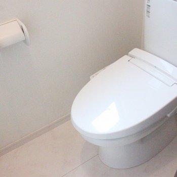 トイレにも余裕のあるスペースを確保