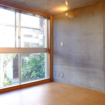 2階は緑を感じます。※写真は前回募集時のものです。