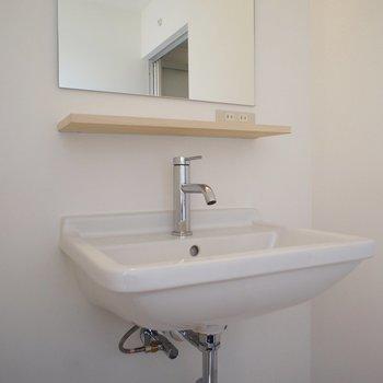 洗面台、デザインいいね!