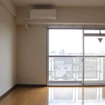 天気のいい日は気持ち良いでしょう※写真は4階の同間取り別部屋のものです