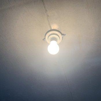照明もステキなんです。