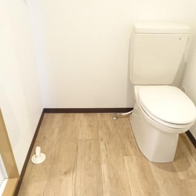 トイレはキレイめ。