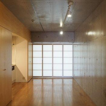 和室のような落ちつける空間(写真は別部屋)