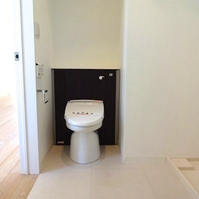 トイレがなんかかわいい※写真は別室です
