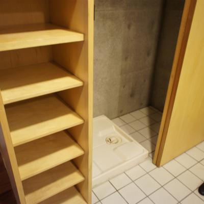洗濯機置き場&冷蔵庫置き場