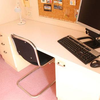 この机は付いてます