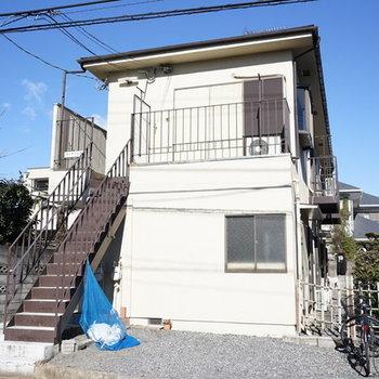 2階建アパートです。
