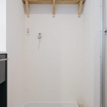 お風呂の横に洗濯機を置いて◯※写真は前回募集時のものです