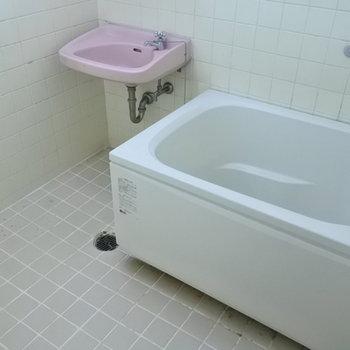 お風呂と洗面はこんな関係です。