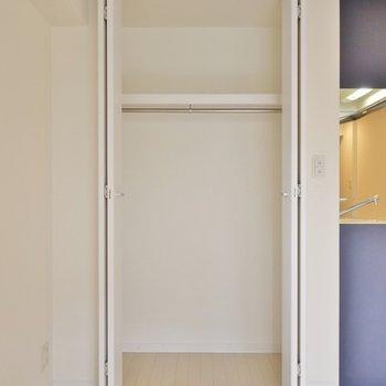 収納は普通サイズ。※写真は同タイプの別室