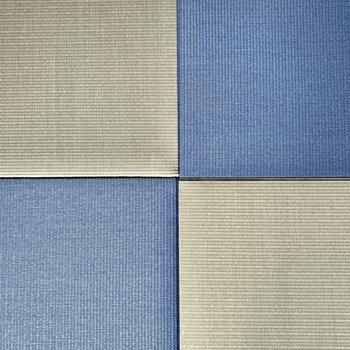 【和室】い草の緑とブルー、珍しいですね。※写真は4階の同間取り別部屋のものです