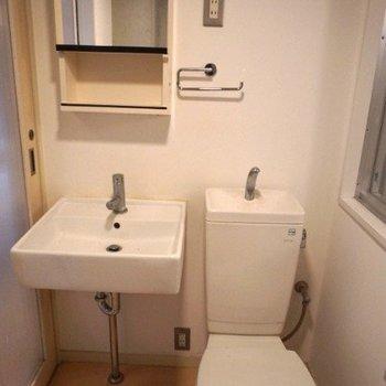 トイレもピカピカです