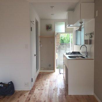 キッチン周りにもスペースがあって嬉しい!※写真は前回募集時のものです