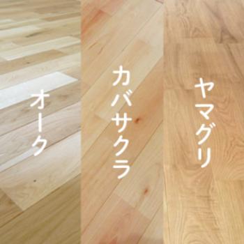 ①無垢床の種類が選べます!