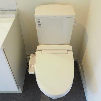 トイレは脱衣所に!