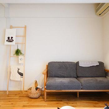 すっきりした空間で使いやすいお部屋◎