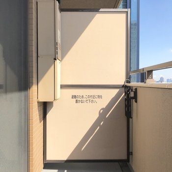 バルコニーからは…※写真は12階同間取り別部屋のものです