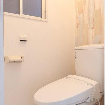 トイレもリニューアルされています!これは嬉しい