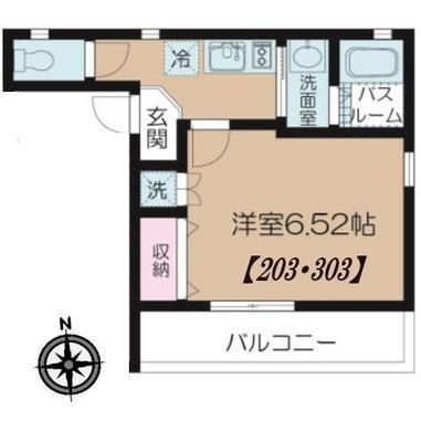 (仮)板橋区富士見町マンション の間取り