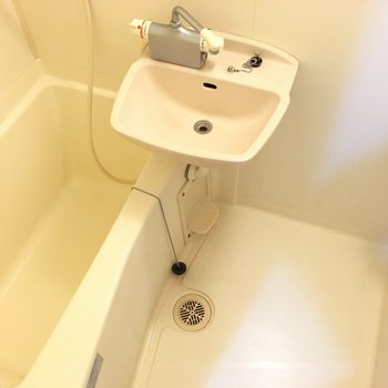 2点ユニット洗い場ゆったり!