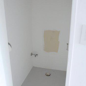 部屋に置いてあるトイレはここにきます