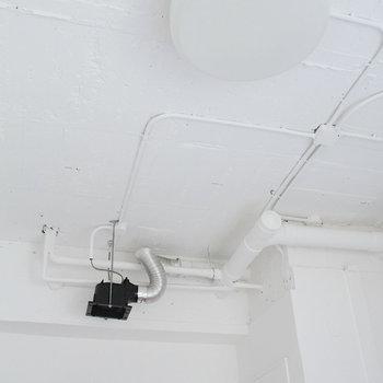 無機質な天井
