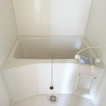 お風呂は1人暮らしにはこのくらいで。