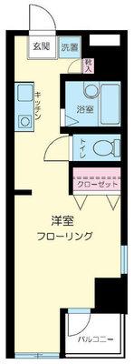 田端クリエイトマンション の間取り