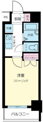 スカイコート笹塚駅前 の間取り