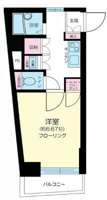 ドルチェ笹塚・壱番館 の間取り