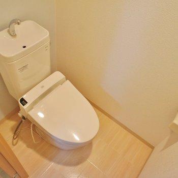 個室トイレ、満足!(間取り反転type)
