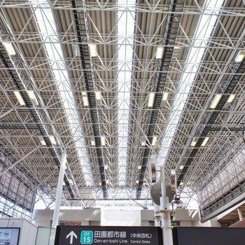 たまプラ駅の天井。好きなんだよな~