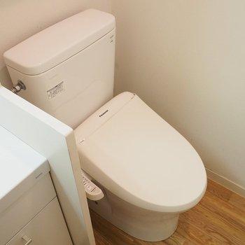 トイレは脱衣所兼です!
