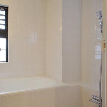 お風呂は爽やかな雰囲気