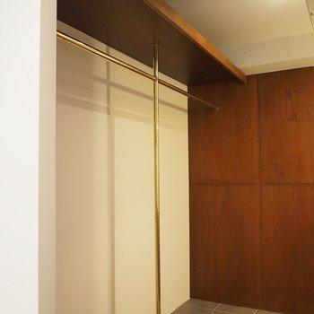 収納は廊下部分に、オープンです!