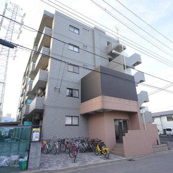 しっかりしたRC造の5階建てマンション!