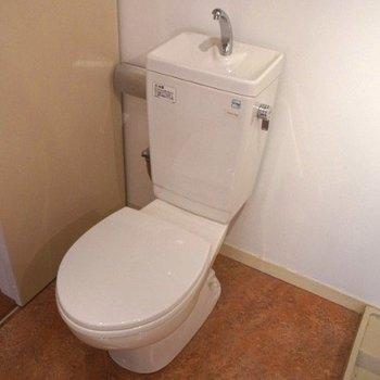 トイレはきれいですね